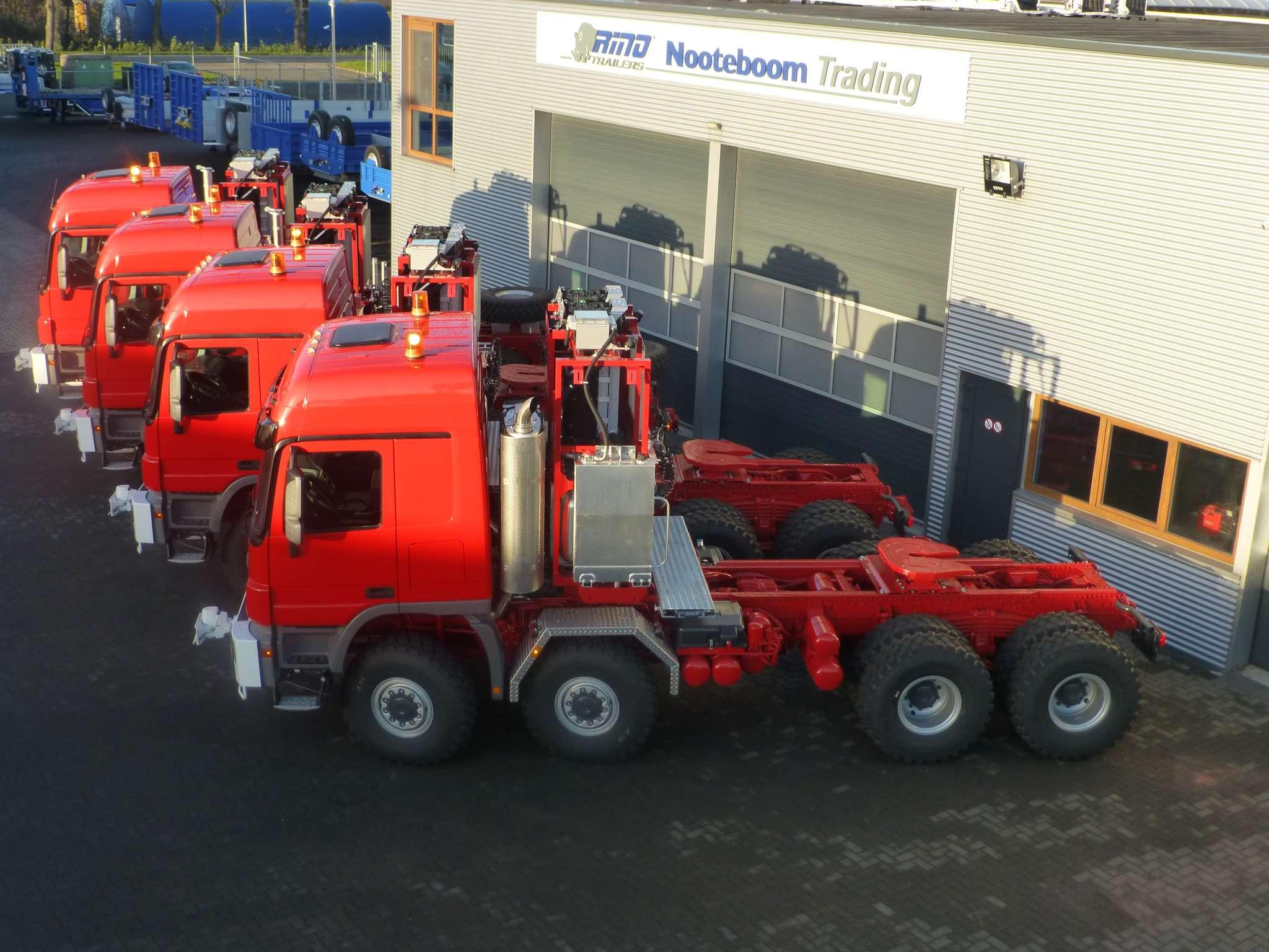 Mercedes Benz zwaar transport truck 350 ton plus 8x8 push and pull, direct beschikbaar