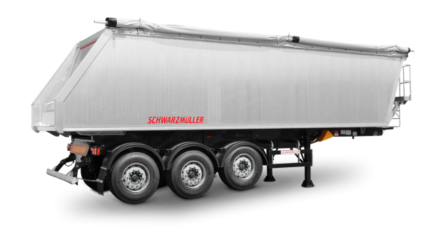 3-axle tipper aluminium body width steel chassis