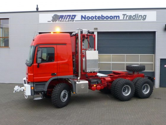 Mercedes Benz zwaar transport truck 350 ton plus 6x6 push and pull, direct beschikbaar