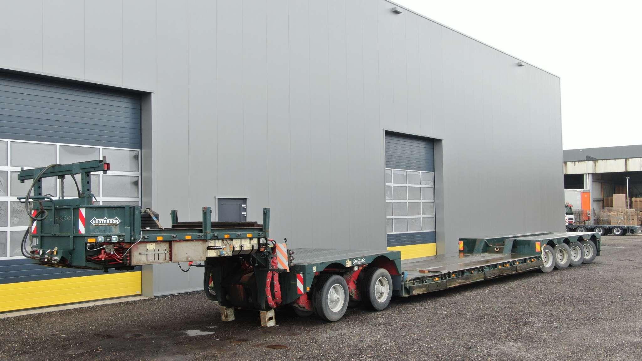 2 camas 4 | 4 ejes de góndola de cama baja incl. 2 ejes interdolly | carga útil 66 toneladas