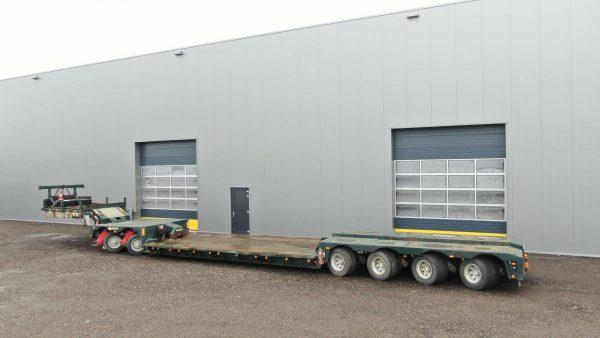 2 bed 4 | 4 assige dieplader inclusief 2 assige Interdolly | laadvermogen van 66 ton
