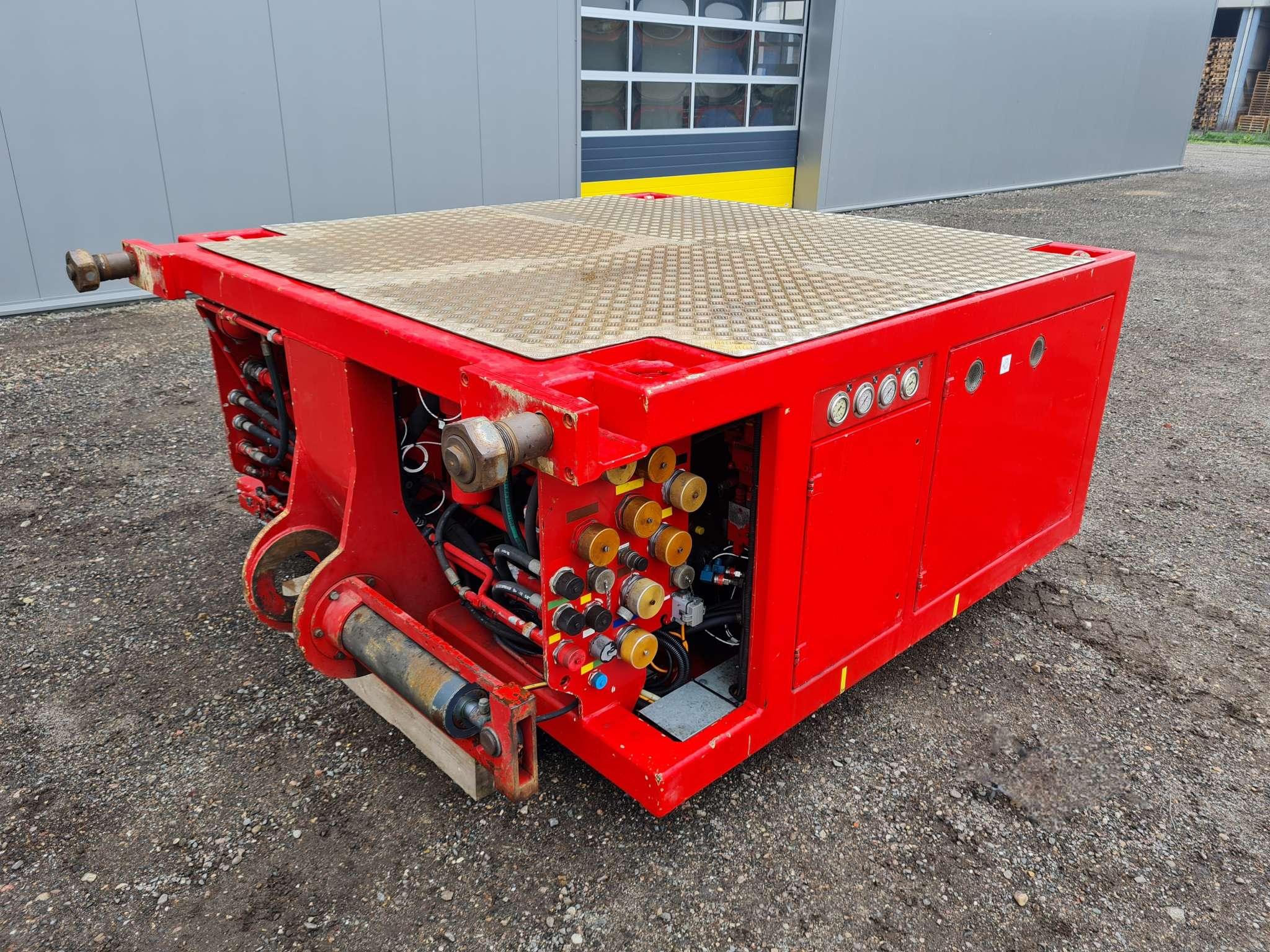 Scheuerle Power pack Z 100, geschikt om 20 aslijnen aan te drijven, incl afstandbediening, geschikt om alle generaties aan te sturen