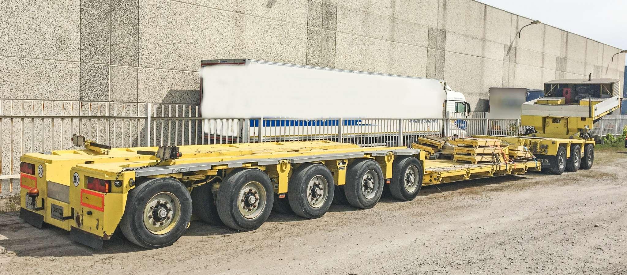 Goldhofer 3 bed 5 tieflader typ STHP/ XLE | ausschiebbar bis 13,75 m | nutzlast 90 tonnen