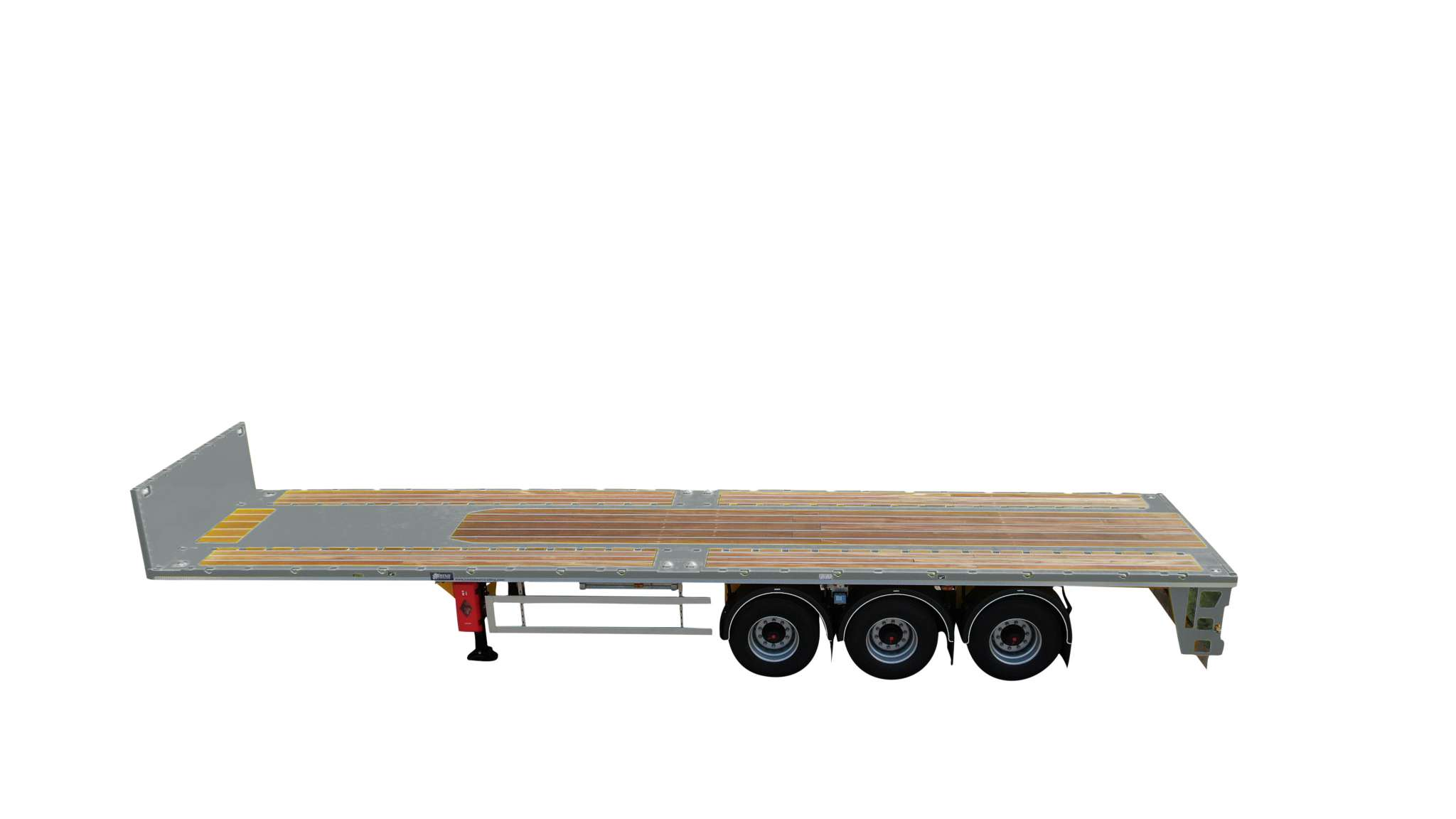 3 Axle ballast | loadfloor length 12,45 m | payload 40 ton