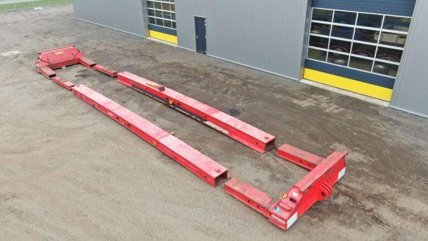 80 tons Kabeltrommel/ Nacelle | Kesselbrücke passend für Scheuerle module Euro/Intercombi