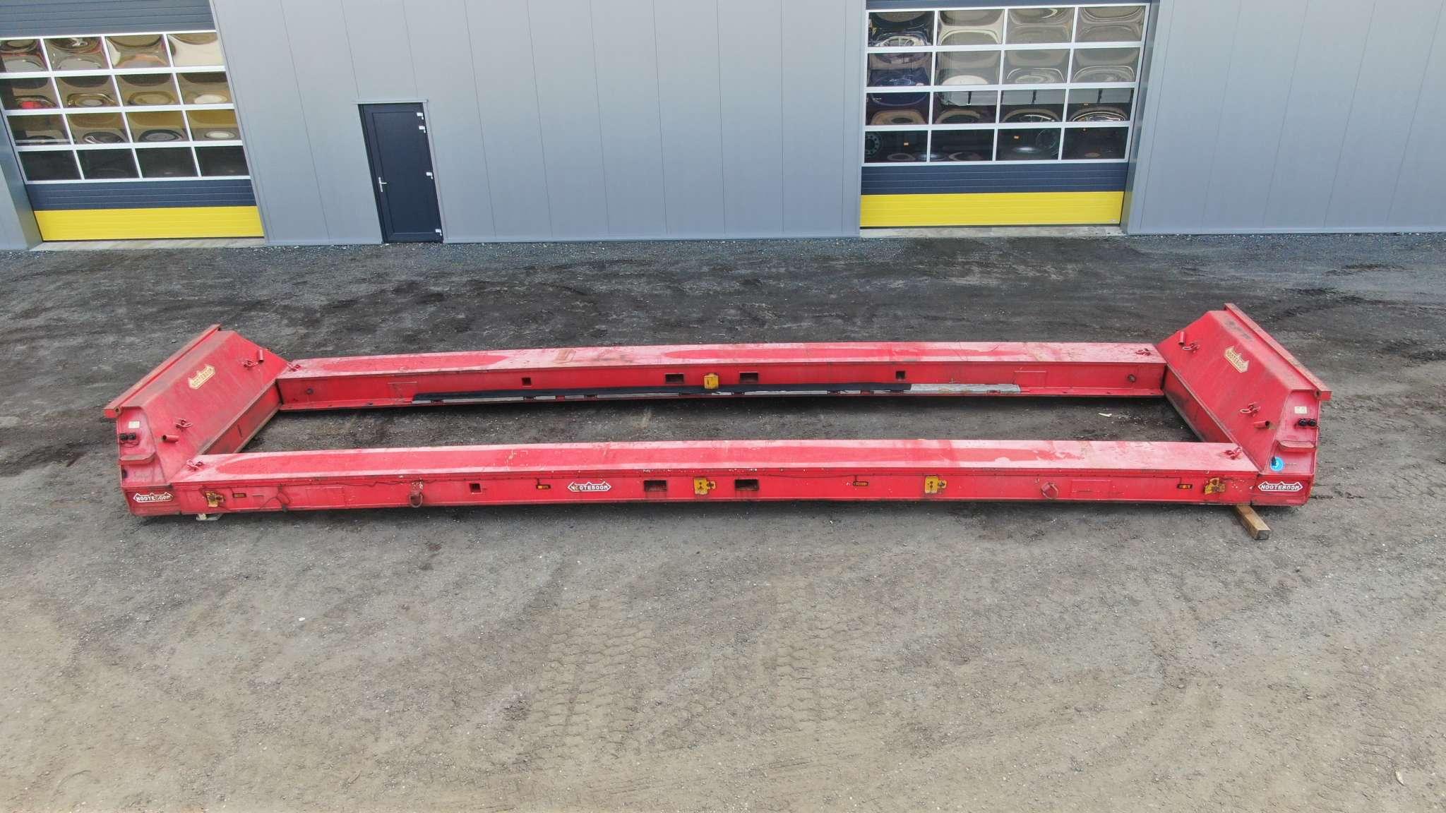 80 tons Haspel-Nacelle | ketelvloer geschikt voor Scheuerle module Euro/Intercombi