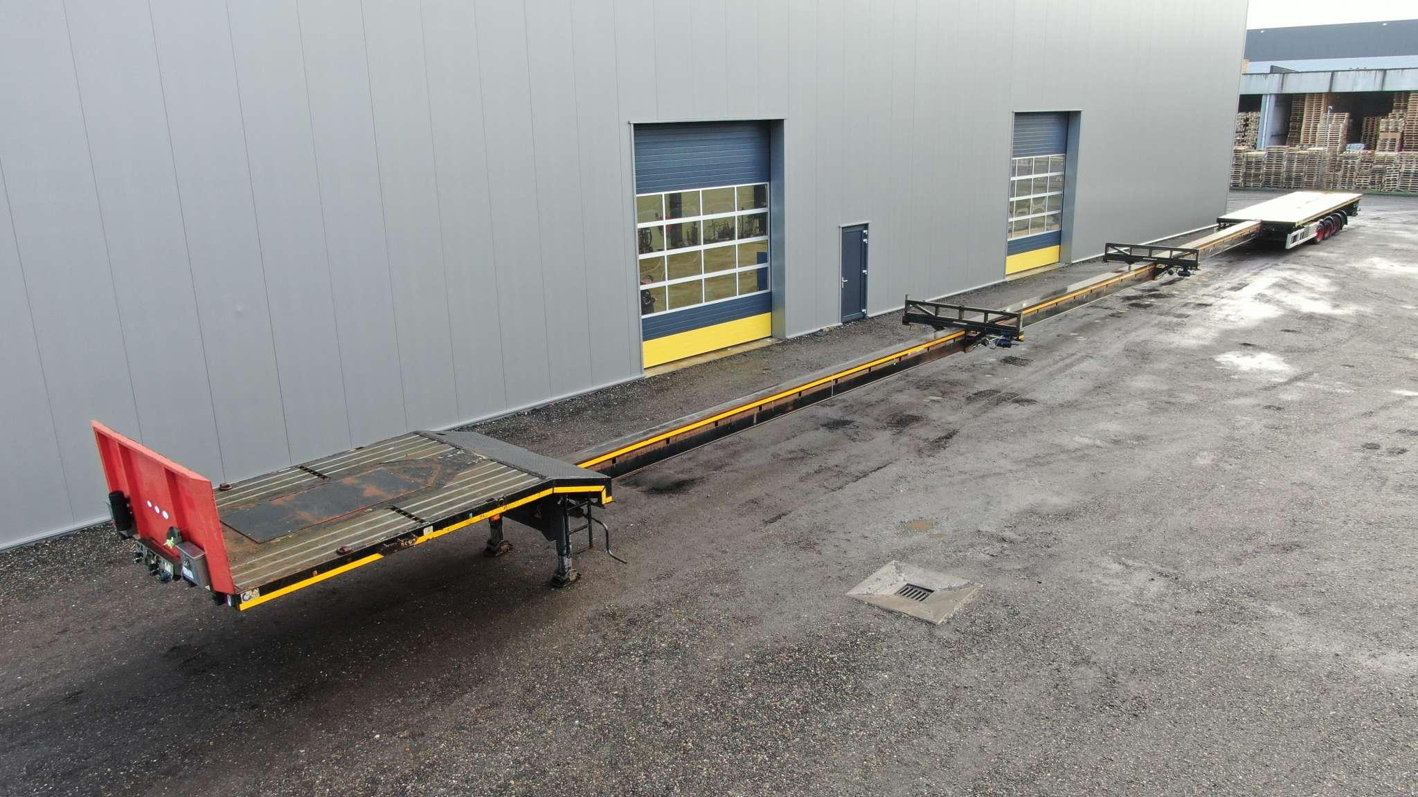 4 Axle telestep | 3x extendable till 48 m | payload 47 ton