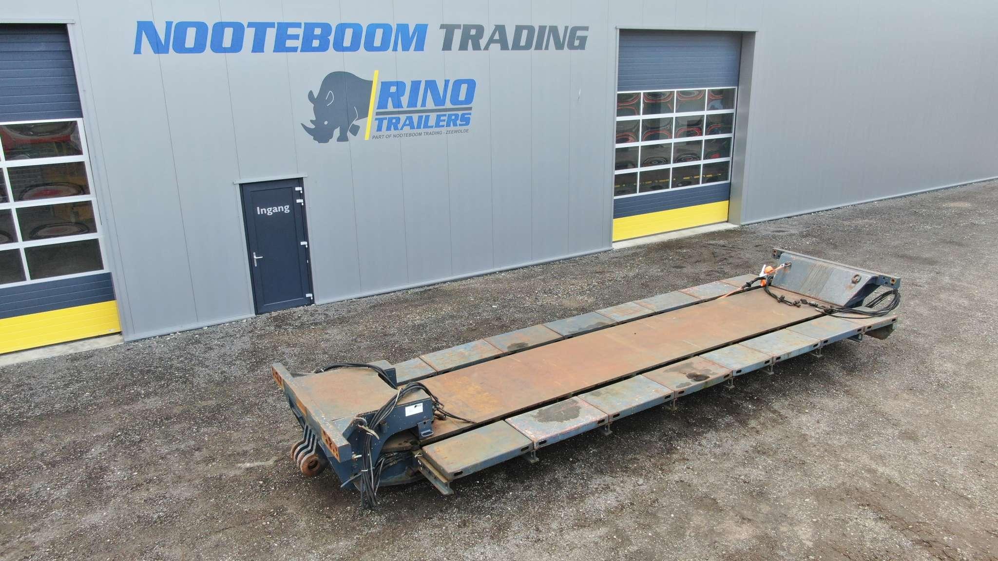 Intercombi | Spine laadvloer + 4 m verlengbalken