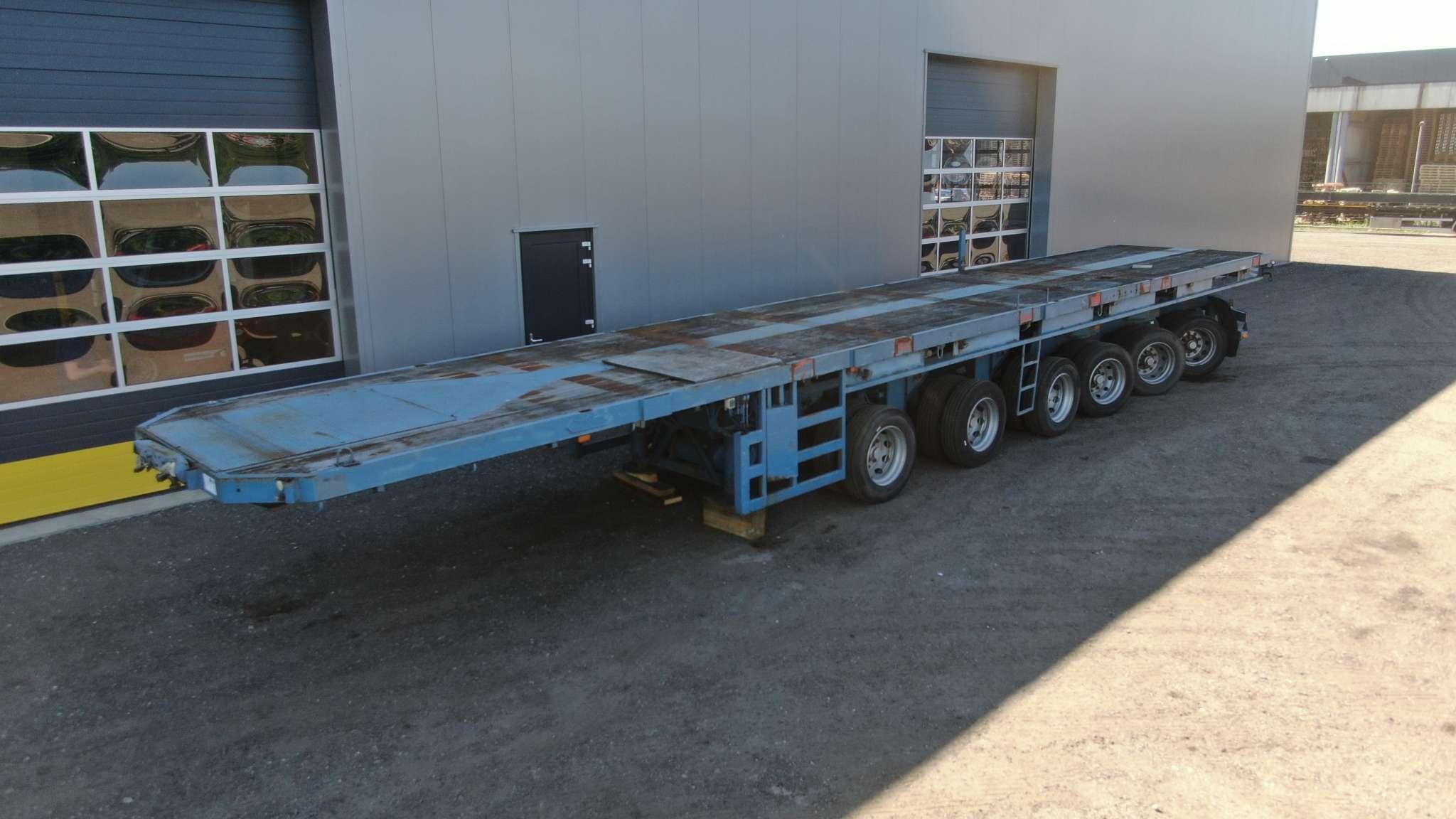 Ballast trailer | 6 axle | loadfloor length 15 m | payload 85 ton