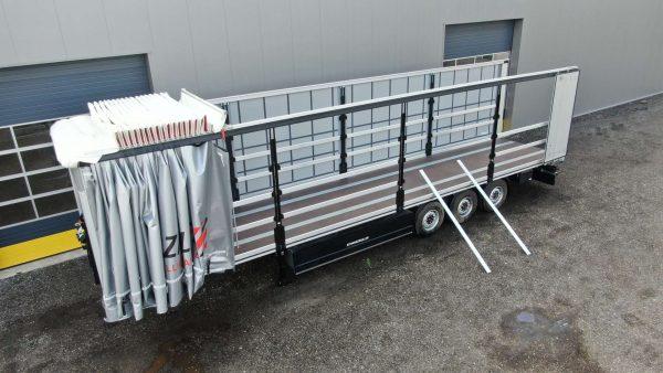 Schuifzeilen trailer | palletbak 32 pallets | laadvermogen 33 ton
