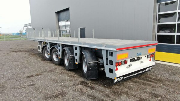 Ballast trailer | 4 axles | cable steered | payload 55 tons